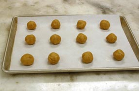 Cookies on Baking Sheet